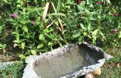 Naturaleza inspirada cuenca con Shapecrete