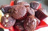 Magdalenas de Chocolate húmedos