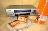 Cómo hacer una tostadora video VHS