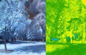 Análisis de bricolaje plantas infrarrojo