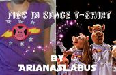 Cerdos en espacio t-shirt / Logo