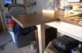 Flotante de la extensión de la mesa de trabajo