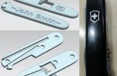3D impresa personalizada 91mm Swiss Army cuchillo (SAK) escalas