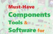 Debe tener los componentes, herramientas y Software para Arduinoist