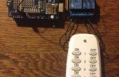¿Árbol de Navidad luces controladas por teléfono? Un simple hack Internet de las cosas.