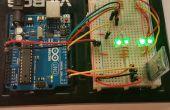 Bluetooth control RGB LED lámpara
