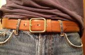 Elegante cinturón de batería