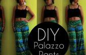 Cómo hacer pantalones Palazzo en 20 minutos | Ilustrado + Video