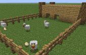 Cómo construir una granja en minecraft