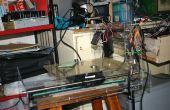 Máquina de grabado láser CNC (producción de máquina de grabado láser utilizando perdido-unidad de CD o impresora)