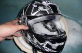 Como: Limpiar el casco de la motocicleta