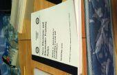Rápido y fácil caliente pegamento libro encuadernación