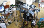 Cómo hacer su tambor Kit de trabajo Real con banda de Rock en Playstation 3