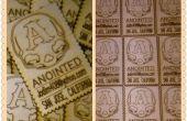 Tarjetas de visita de madera