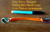 Diminuto Bungees: Hacer cable de mini-choque de pulseras de goma