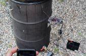 Twitteando, Wireless, regulador de la temperatura del ahumador tambor feo (UDS) con Android