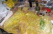 Reciclar bolsas de plástico en 'Hilos'