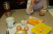 5 minutos perfecto gourmet sándwich de Bagel de huevo en microondas - Yummy