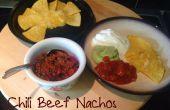 Chiles Nachos de carne