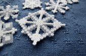 BRICOLAJE en copos de nieve Hama
