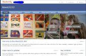 Cómo crear un sitio web compartido usando Shutterfly.com