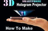 Como hacer proyector de holograma 3D Smartphone (fácil)