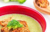 Crema brócoli y apio sopa