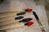 Resina de alquitrán de abedul para artes de Paleo y herramienta