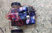 Construir un Robot sencillo utilizando un Arduino y un L293 (Puente H)