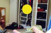 Levitando de la pelotita de ping pong