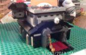 Choque de LEGO de clanes lv9 Ayuntamiento!