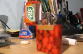 Una carcasa del Zippo de una caja de Tic-Tac