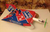 Pizza caja de avión ¿de Domino $35