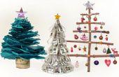 Cómo hacer árboles de Navidad