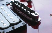 Herramienta de desmontaje/montaje de guitarra eléctrica puente post