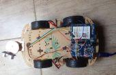 Control de servo Arduino usando el sensor ultrasónico
