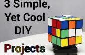 3 simple, todavía frescos proyectos DIY (P1)