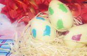 Blanco huevos de Chocolete Yoshi (Super Mario)
