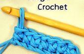Cómo al Crochet la puntada de ganchillo solo