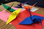 Origami - Grúa de paz
