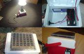 Construcción de un generador solar micro