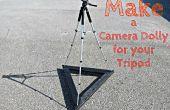 Hacer un carro de la cámara para su trípode