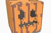 Minecraft 3D gato-o-linterna