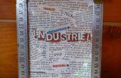 Marco de imagen Cool y fácil estilo industrial