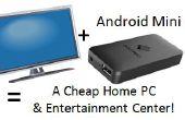 Ver canales de televisión de todo el mundo gratis en tu casa TV y convertir su TV en una PC de casa barato