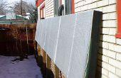 BRICOLAJE calentador de aire Solar cajas