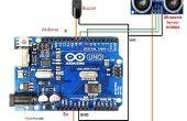 Como interfaz de Sensor de ultrasonidos (HCSR04) para arduino uno