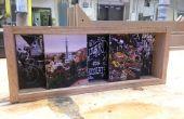 Deslizante sombra caja marco de fotos