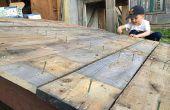 Vertiente de rampa - cómo construir una rampa de cobertizo de jardín resistente