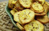 Chips de plátano receta con Philips Airfryer